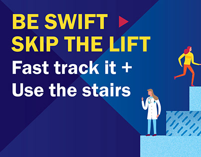 Take the Stairs Campaign • St George's