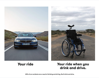 Drunk Driving // Ad campaign