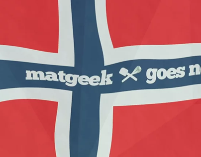 Matgeek goes Norway - Intro