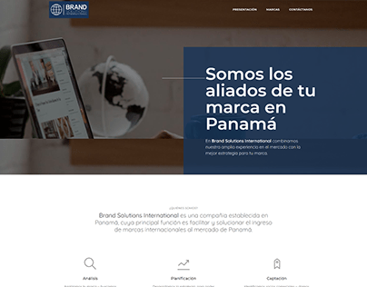Sitio Web Brand Solutions Ints