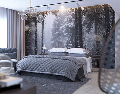The Black Forest / Master Bedroom