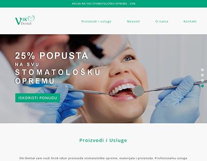 Vike-dental landing page