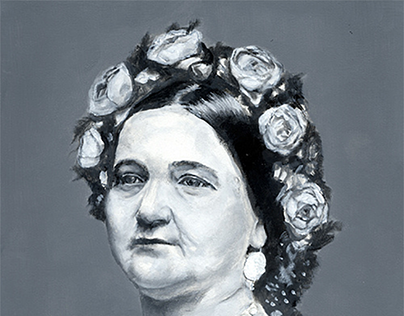 Mary Todd / Booth painting