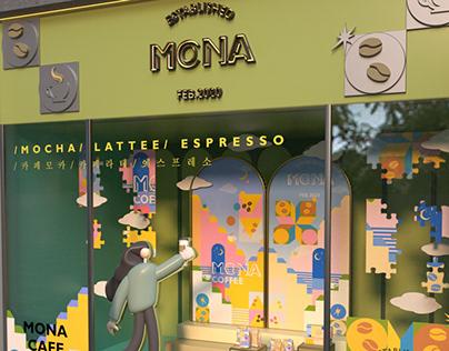 MONA COFFEE DISPLAY