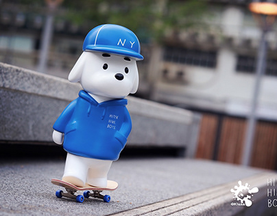 Skater JOHN × OKluna Art toy project