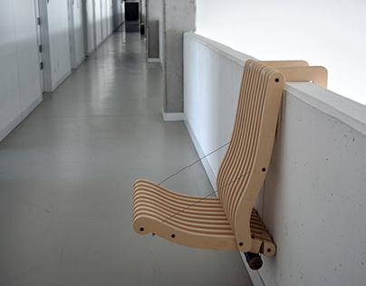 Foldy-Ply chair