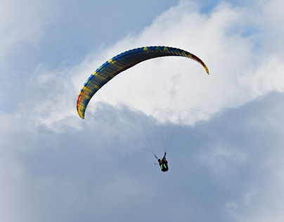 Asia's Highest Paragliding Place