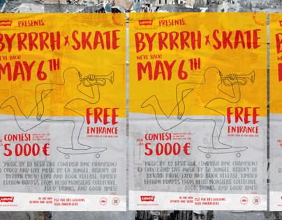 Byrrrh & Skate - Levis