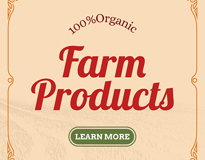 Online Banner Maker for Farm Products