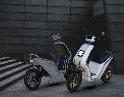 Design of Electric Scooter for Small Distance Commute