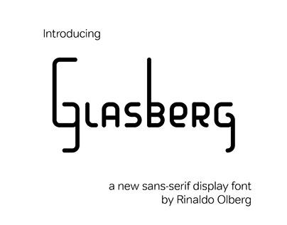 Glasberg Display Font