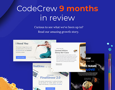 CodeCrew 9 Months In Review