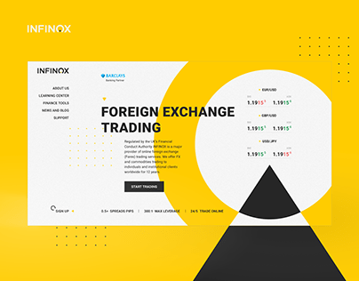 Website for Foreign Exchange Trading Company (Forex)
