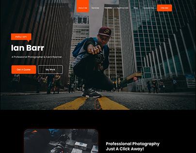 Portfolio Website - UI Design