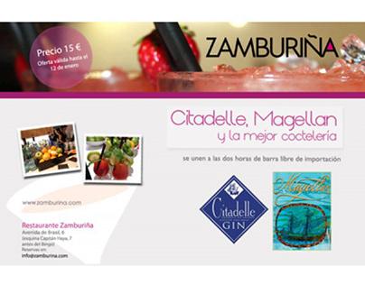 Publicidad y Tienda Virtual de Restaurante Zamburiña