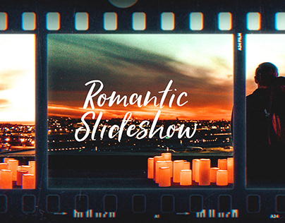 Romantic Film Frames Slideshow (After Effects Template)