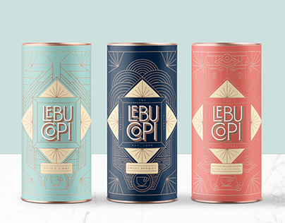 LEBU·COPI | Tea branding & packaging