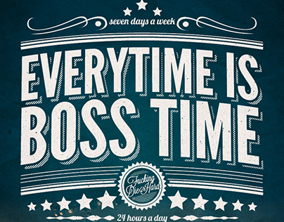 Everytime is boss time | t-shirt