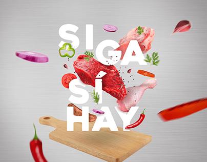 """""""SIGA, SÍ HAY"""" La Carnicería"""