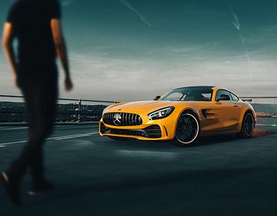 Mercedes-AMG GT R - CGI & Retouch