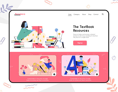 Books eCommerce Website Platform