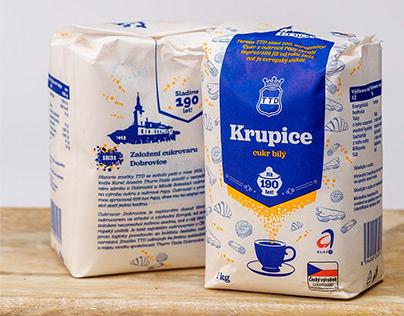 Tereos TTD Sugar packaging design