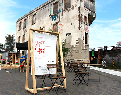 Lab Éphémère: Place au Chantier