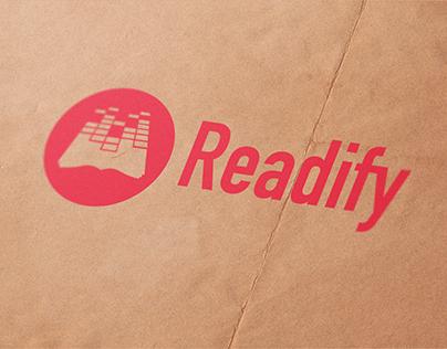 Logo presentation: Readify