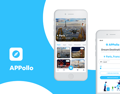 Appollo - mobile application for travellers
