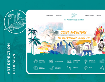 The Adventurous Mailbox - E-commerce Website