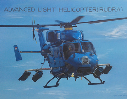 RUDRA-AIRCRAFT MODEL PAINTING FOR - H.A.L