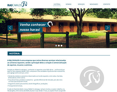 Website - Raj Cavalos