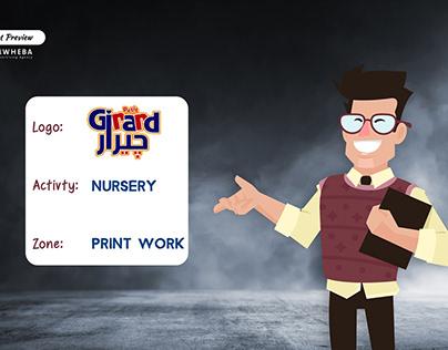 "MWHEBA Print work for ""Girard"""