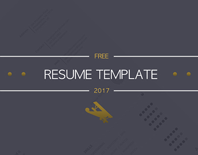Free Resume Template (Some update)