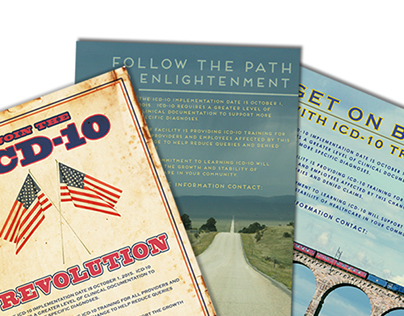 ICD-10 Healthcare Education Posters