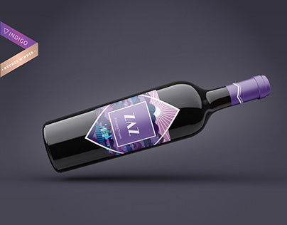 Zaz wine- Branding and Label Design