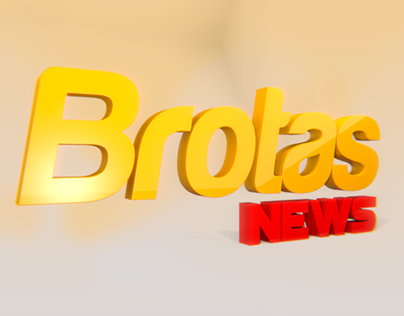 Abertura/Opening Portal Brotas News - Motion Graphics