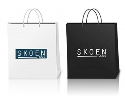 Naming e Identidade Visual Skoen Shoes