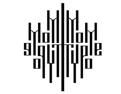 Vyaz - ancient Slavic encryption font