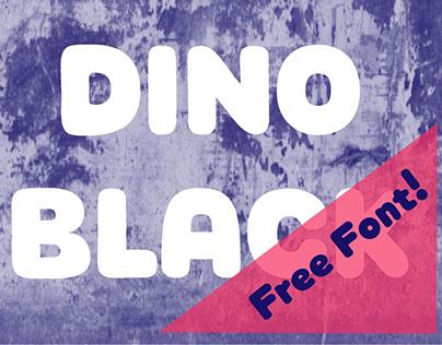 Dino Black Font