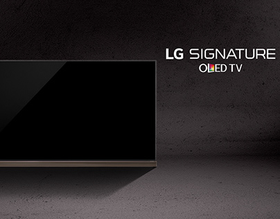 LG OLED SIGNATURE | CEO OF THE TV