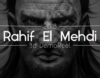 Rahif El Mehdi - 3D Demo Reel 2018