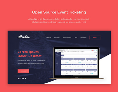 Event ticket software