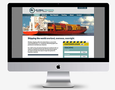 Global Transol Website Design