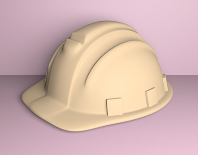 Contruction Helmet for 3D printing
