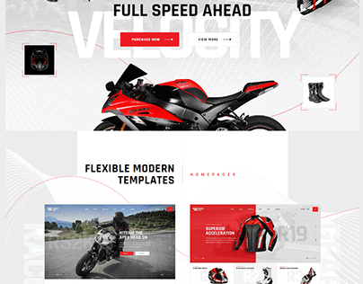 Motorcycle WordPress Theme