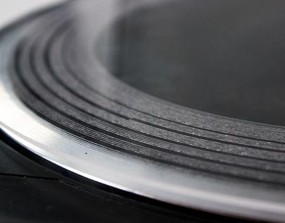 Laser Cut Vinyl Record