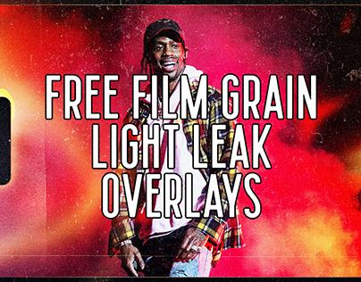 Free Film Grain Light Leak Overlay Templates