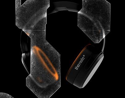 the noiz* - Headphone Concept Design