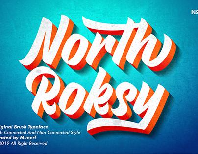 North Roksy - Bold & Versatile Script Font